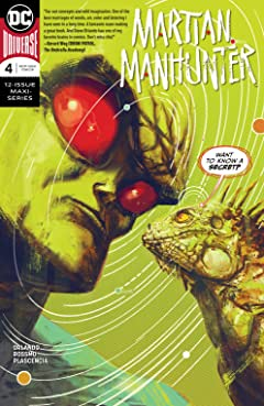 Martian Manhunter (2018-) #4