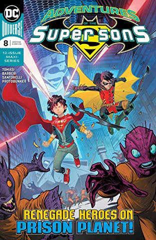 Adventures of the Super Sons (2018-2019) No.8