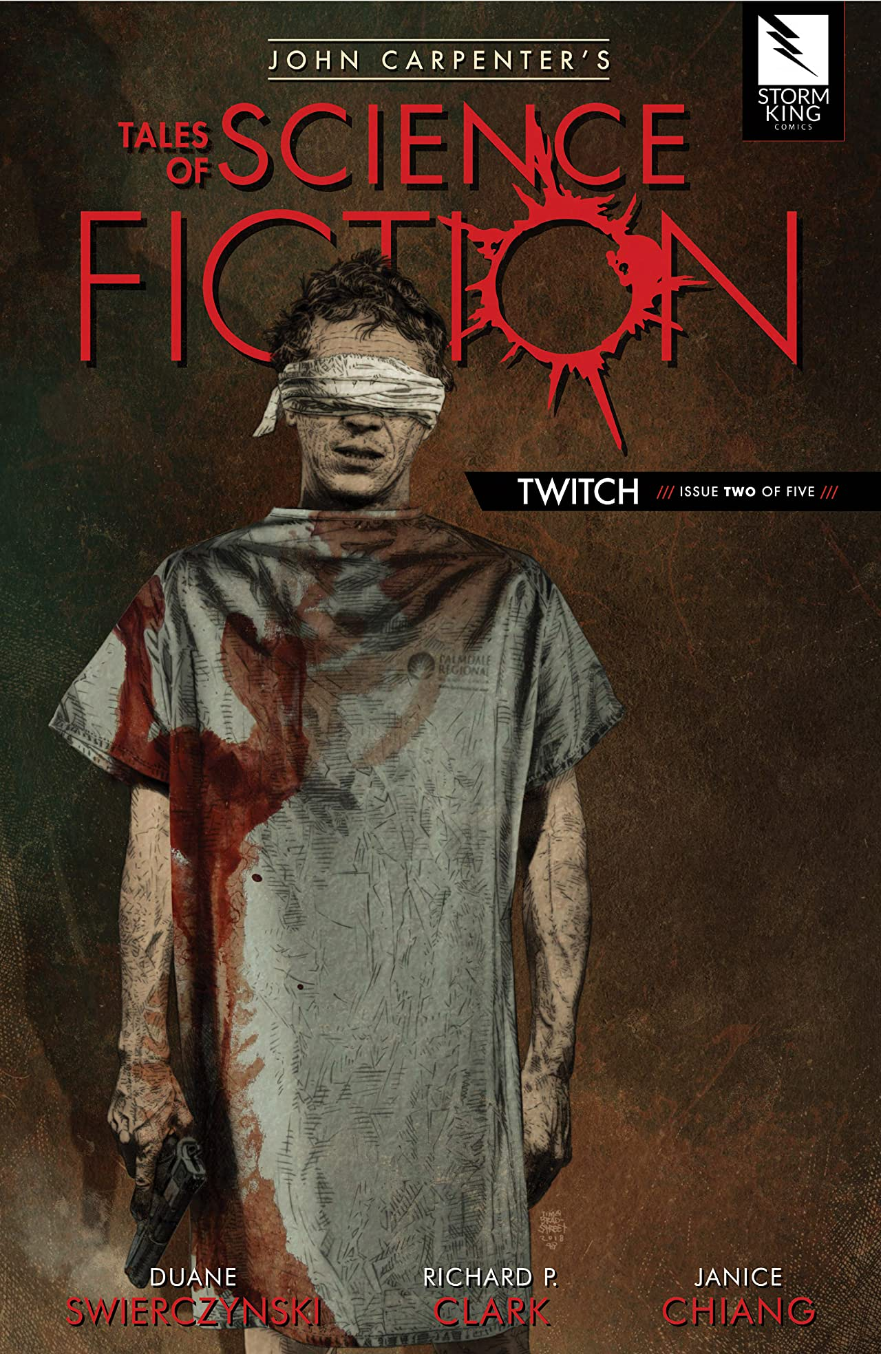 John Carpenter's Tales of Science Fiction: TWITCH #2