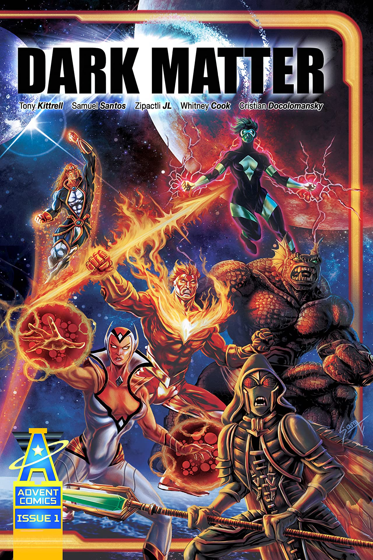 Dark Matter: Rise of the Lexicons #1