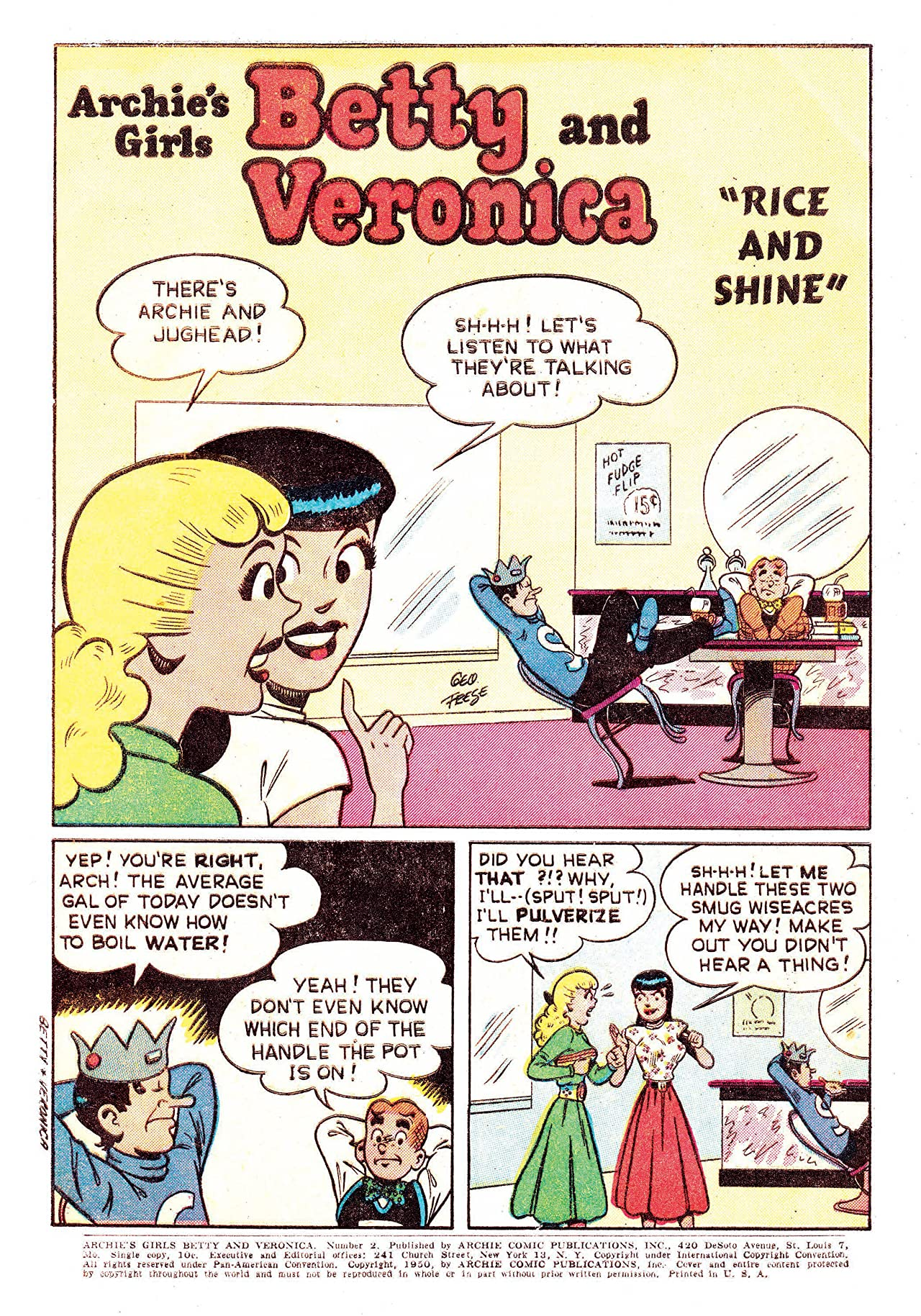 Archie's Girls Betty & Veronica No.2
