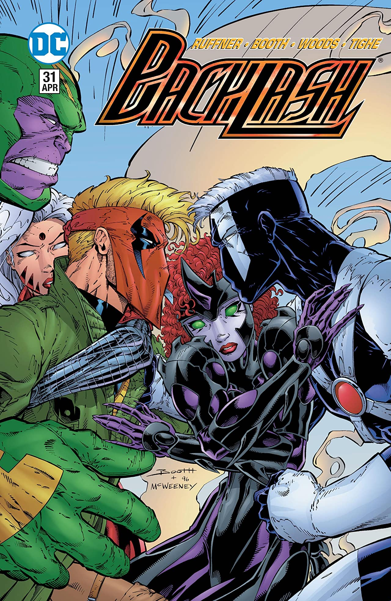 Backlash (1994-1997) #31