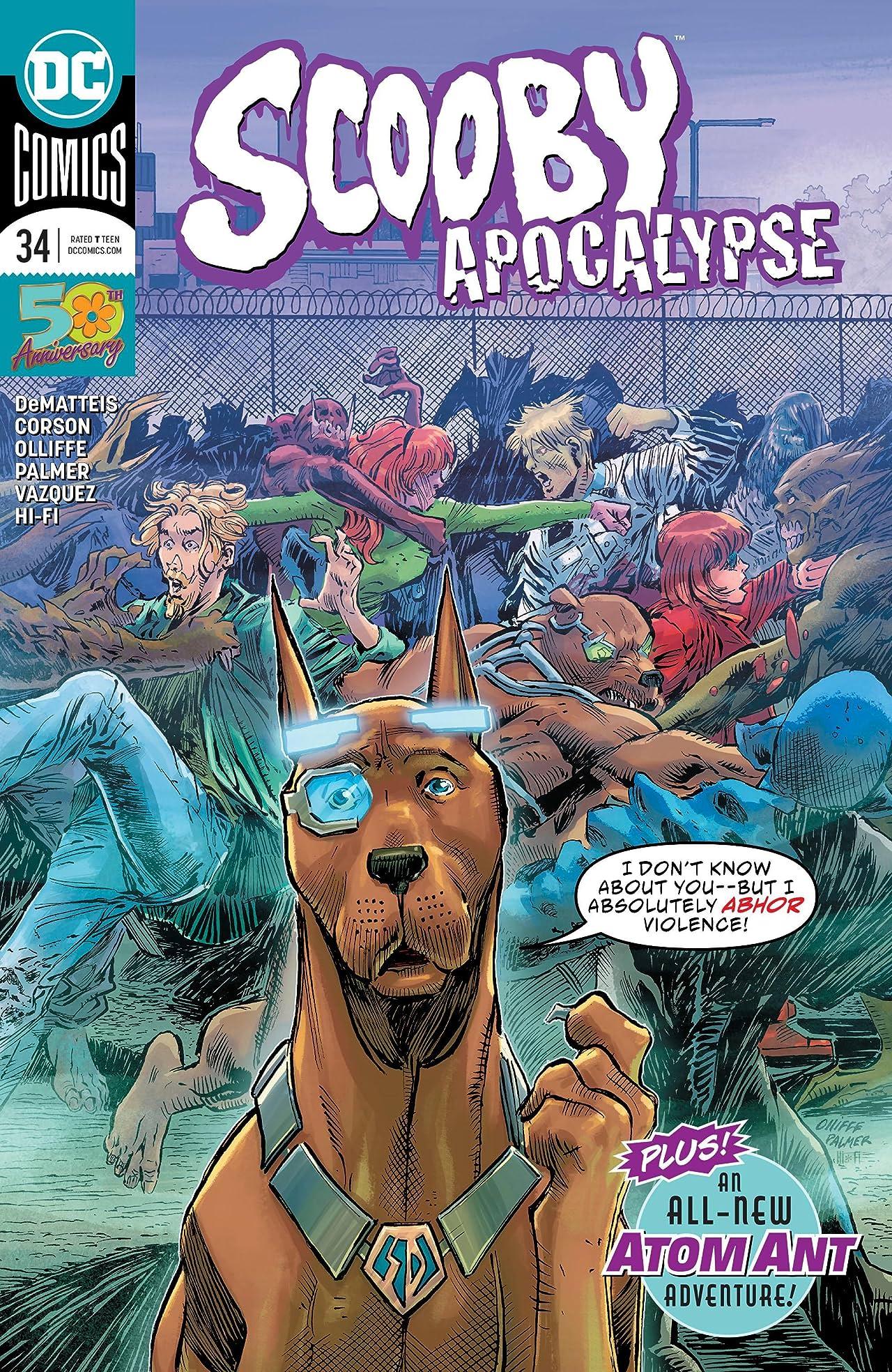 Scooby Apocalypse (2016-) #34