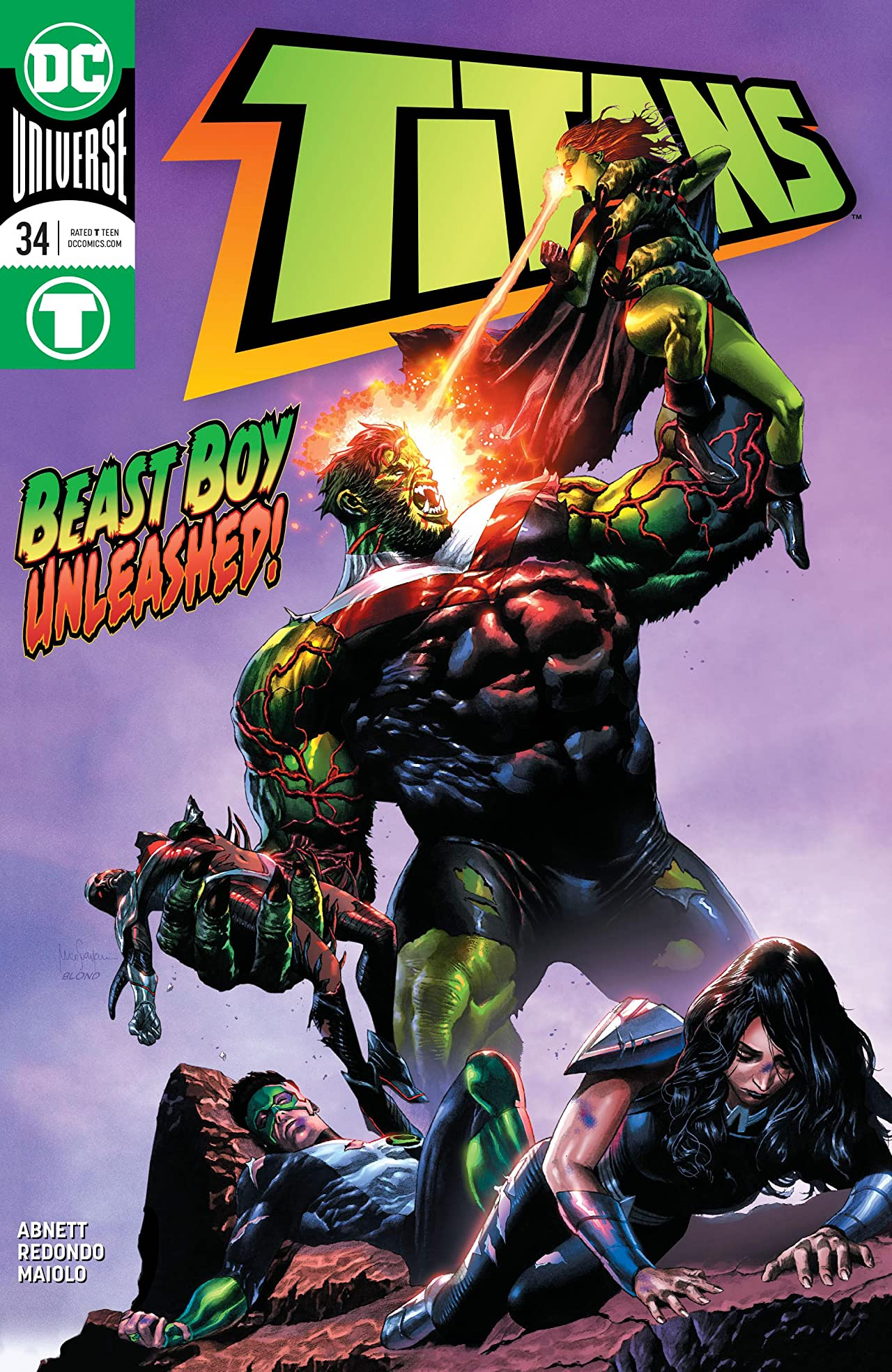 Titans (2016-) No.34