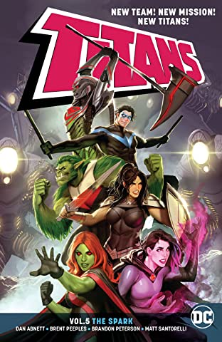 Titans (2016-) Tome 5: The Spark