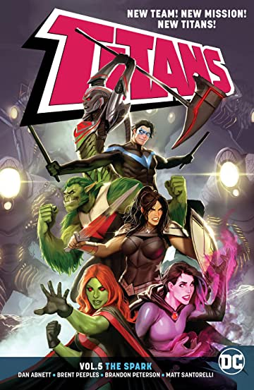 Titans (2016-) Vol. 5: The Spark