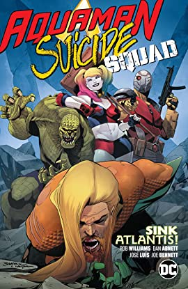 Aquaman/Suicide Squad: Sink Atlantis