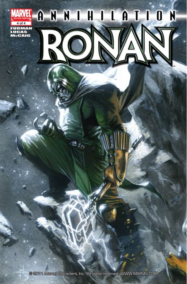 Annihilation: Ronan #4 (of 4)
