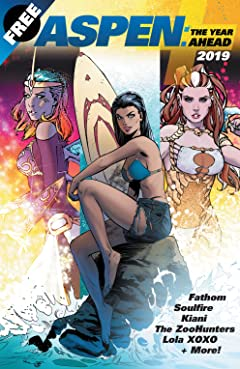 Aspen Comics 2019: The Year Ahead