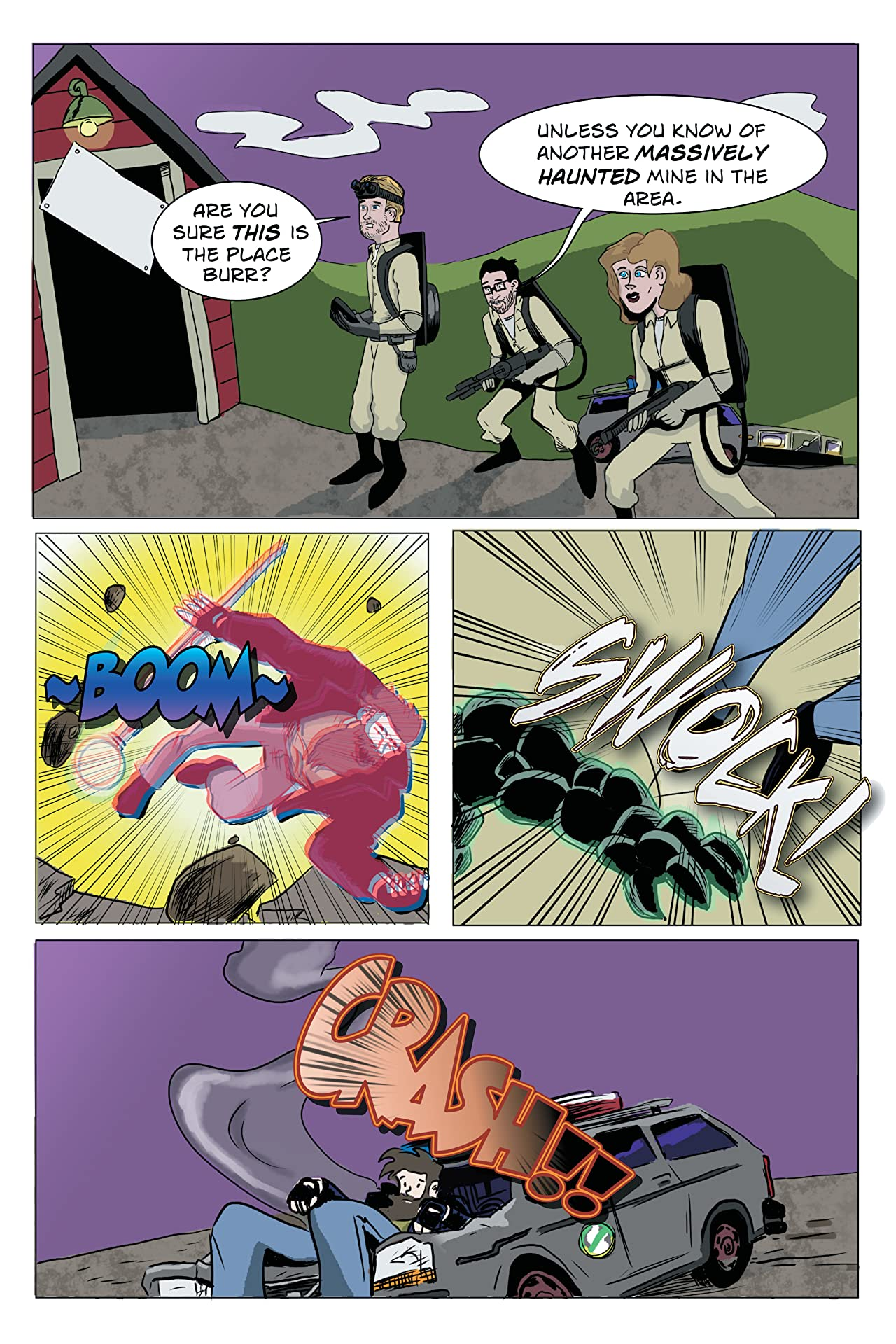 The Adventures of Auroraman #5