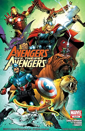 Avengers vs. Pet Avengers #4 (of 4)