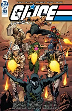 G.I. Joe: A Real American Hero #263