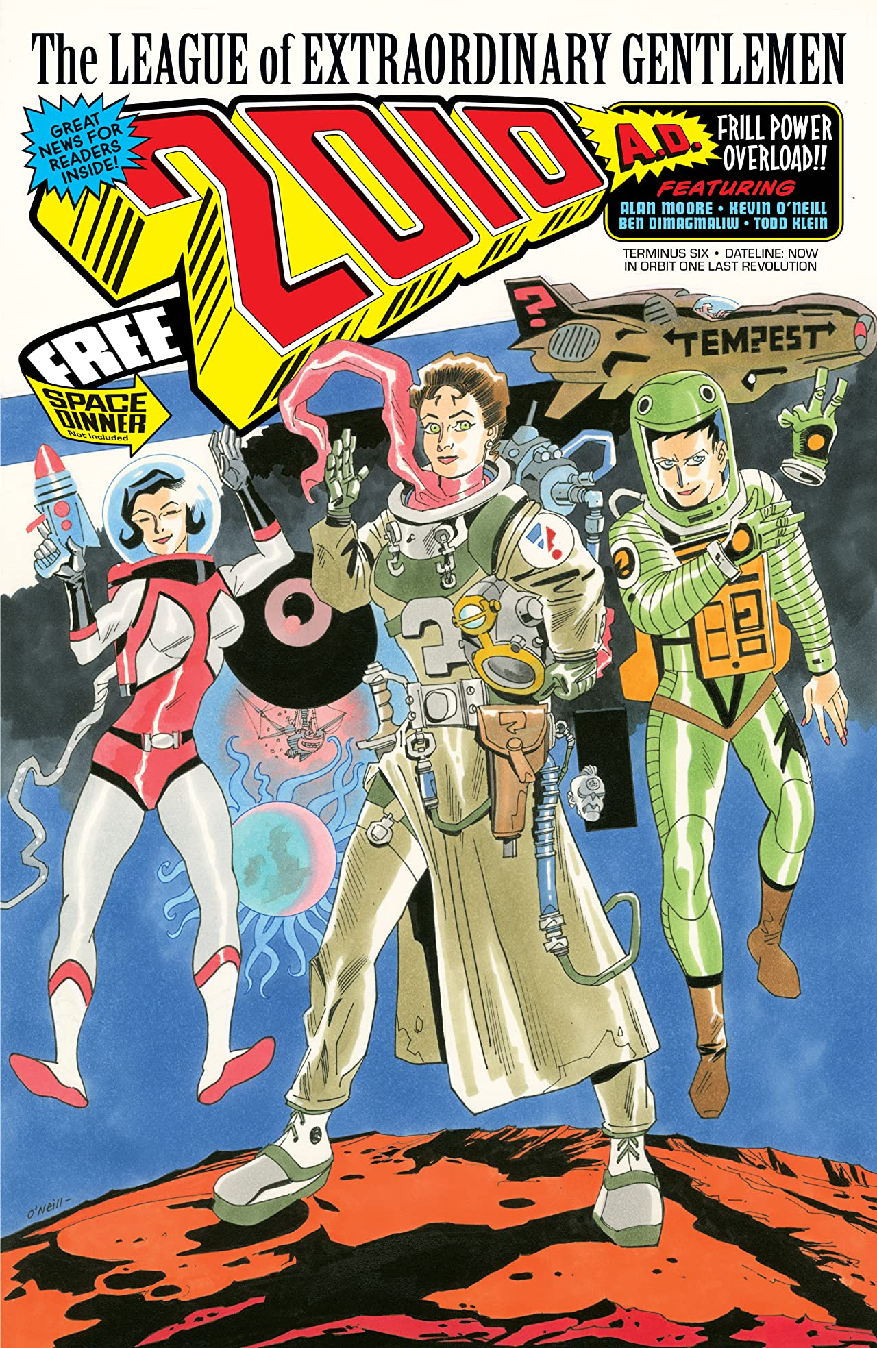 The League of Extraordinary Gentlemen: The Tempest #6 (of 6)