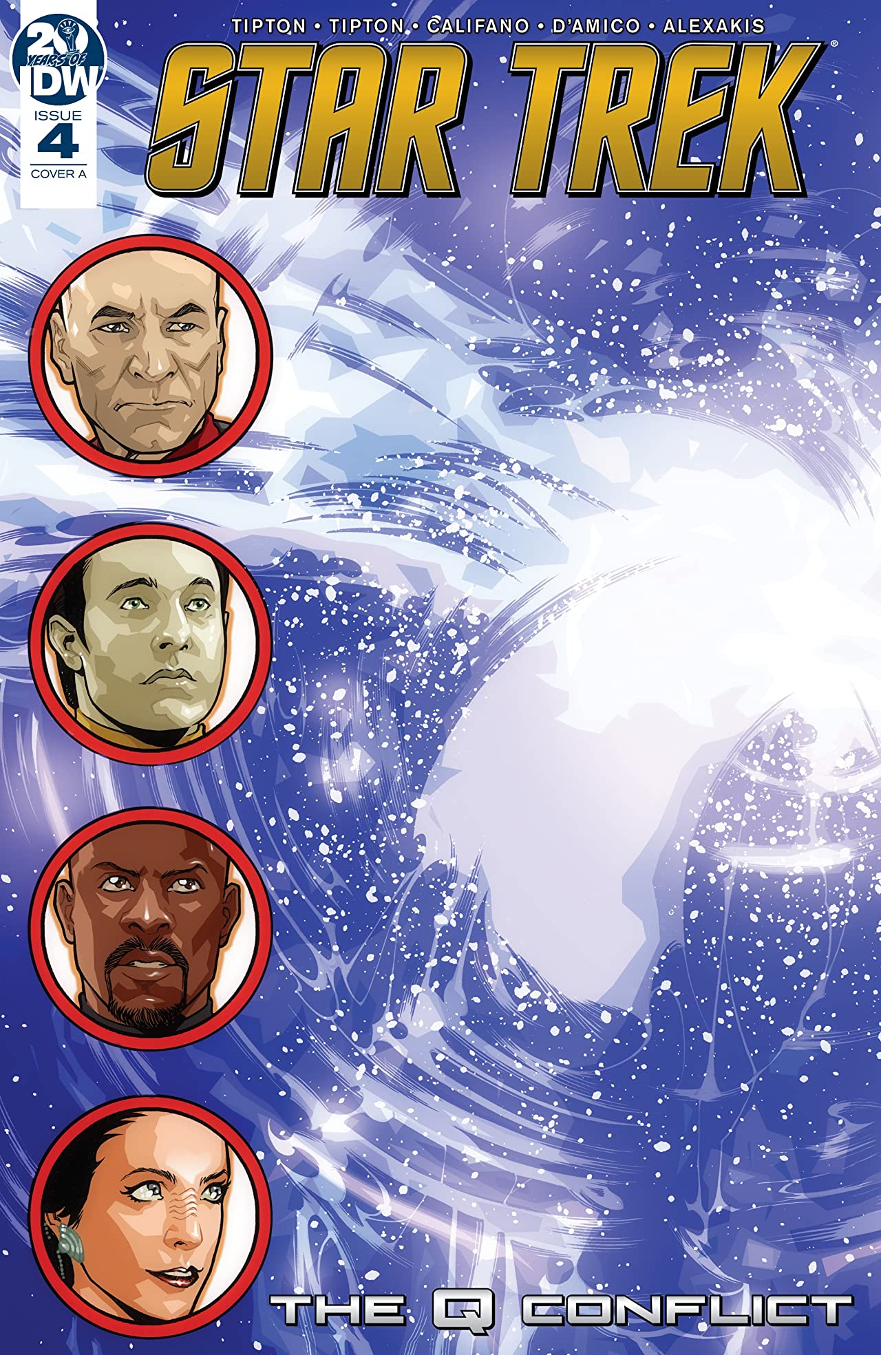 Star Trek: The Q Conflict No.4 (sur 6)