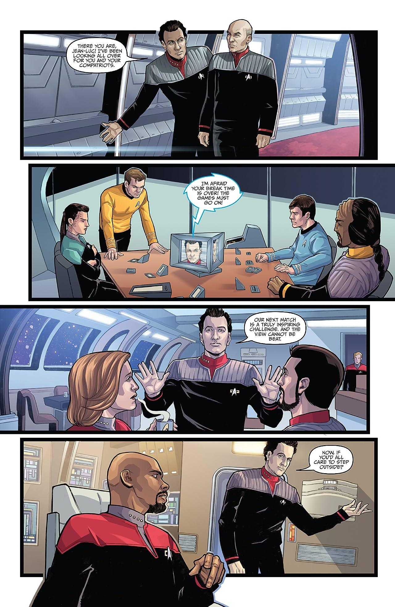 Star Trek: The Q Conflict #4 (of 6)
