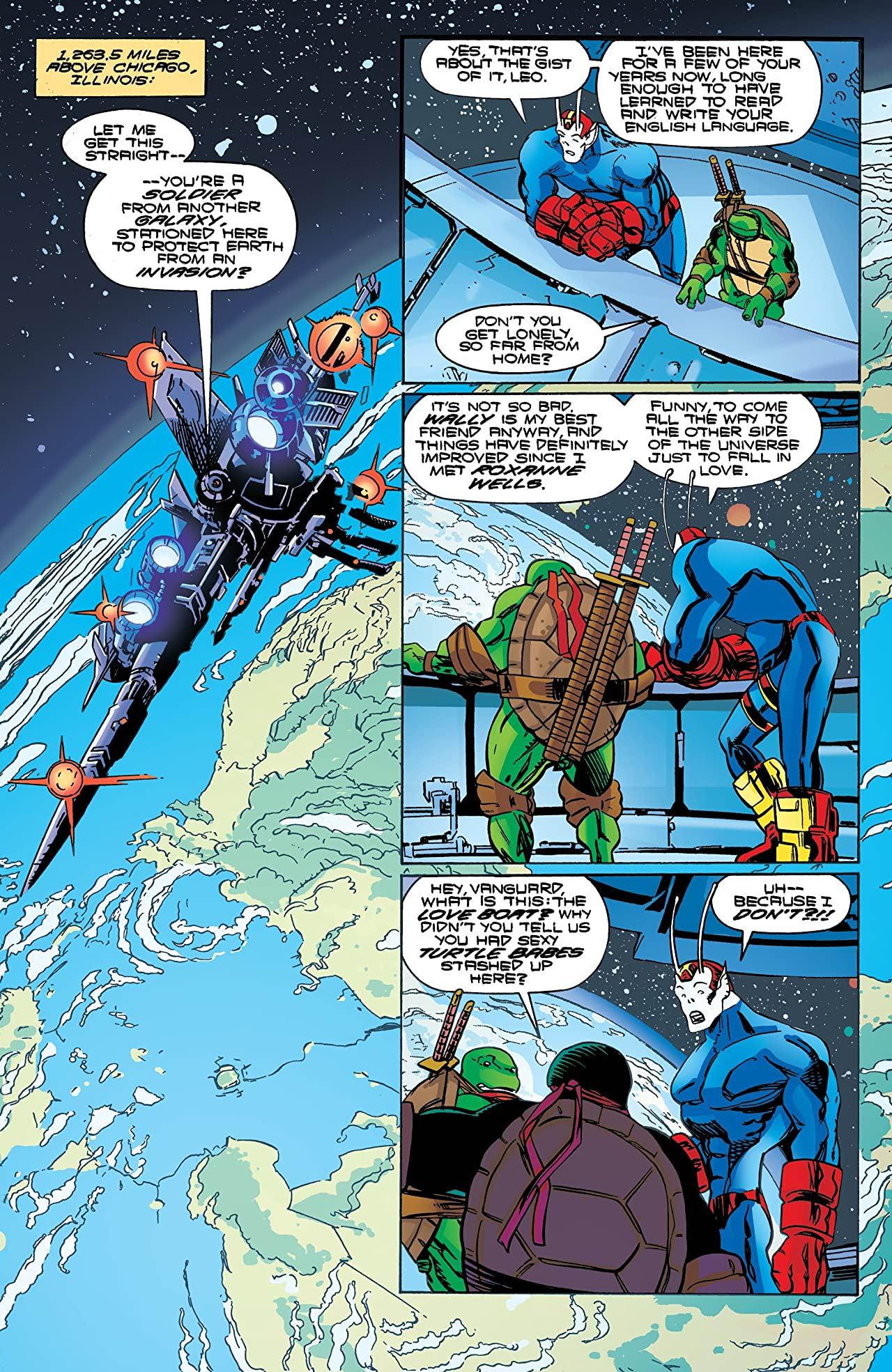 Teenage Mutant Ninja Turtles: Urban Legends No.12