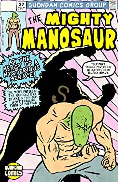 The Mighty Manosaur #23