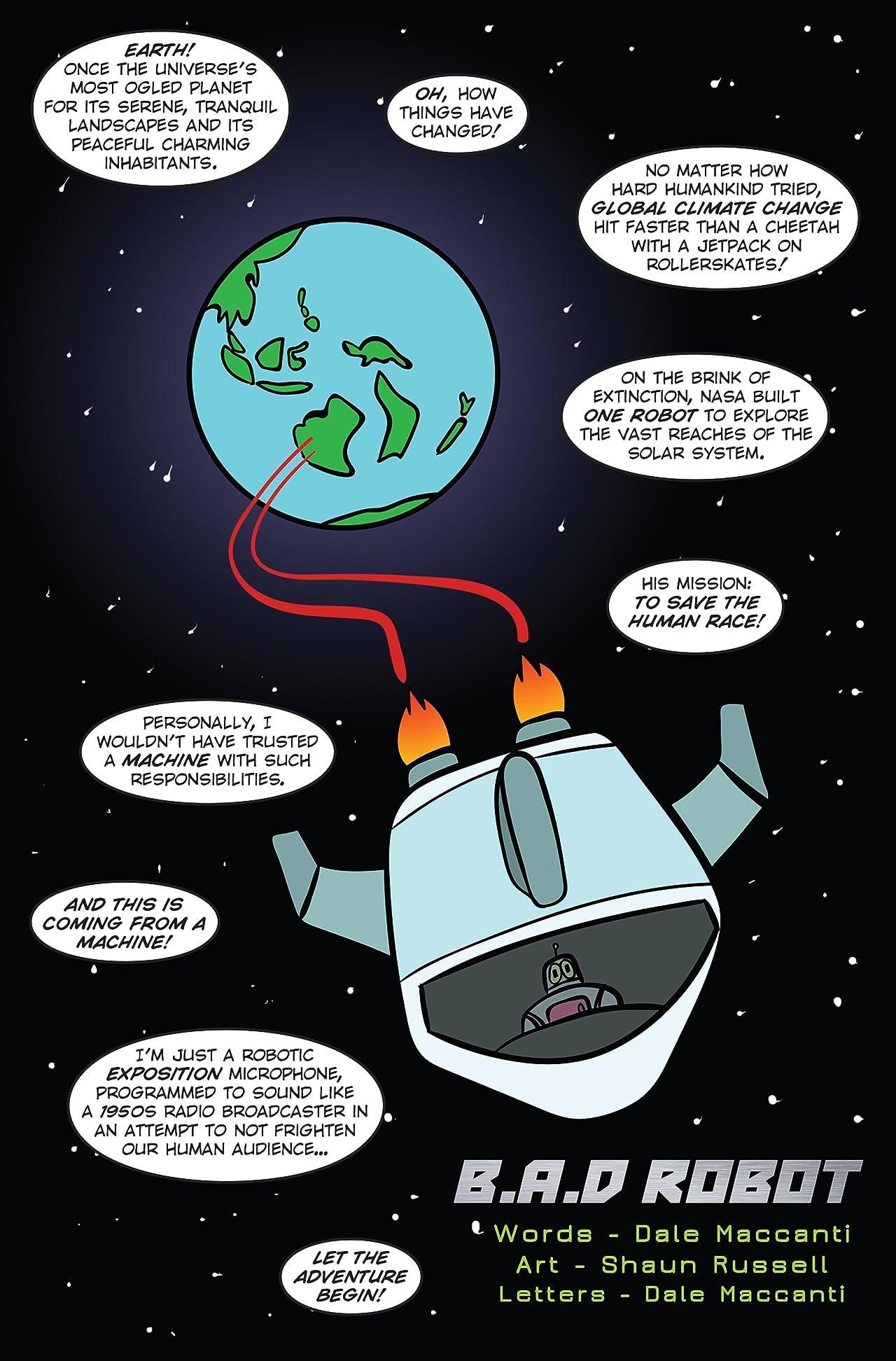 B.A.D Robot #1