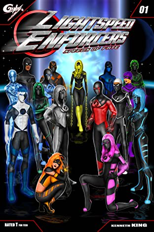 Lightspeed Enforcers: Speeds of Fate #1