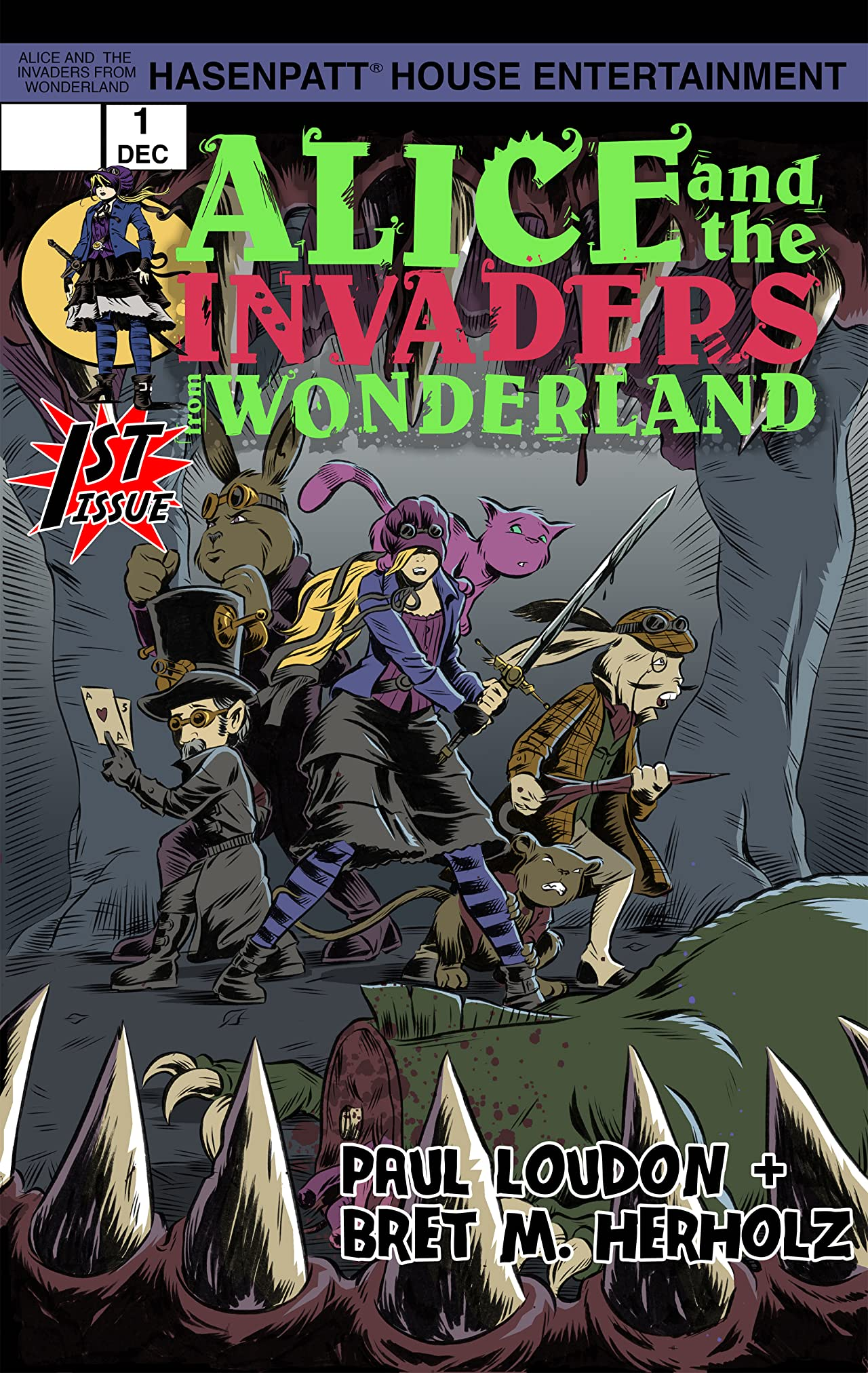 Alice and the Invaders From Wonderland #1