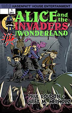 Alice and the Invaders From Wonderland No.1