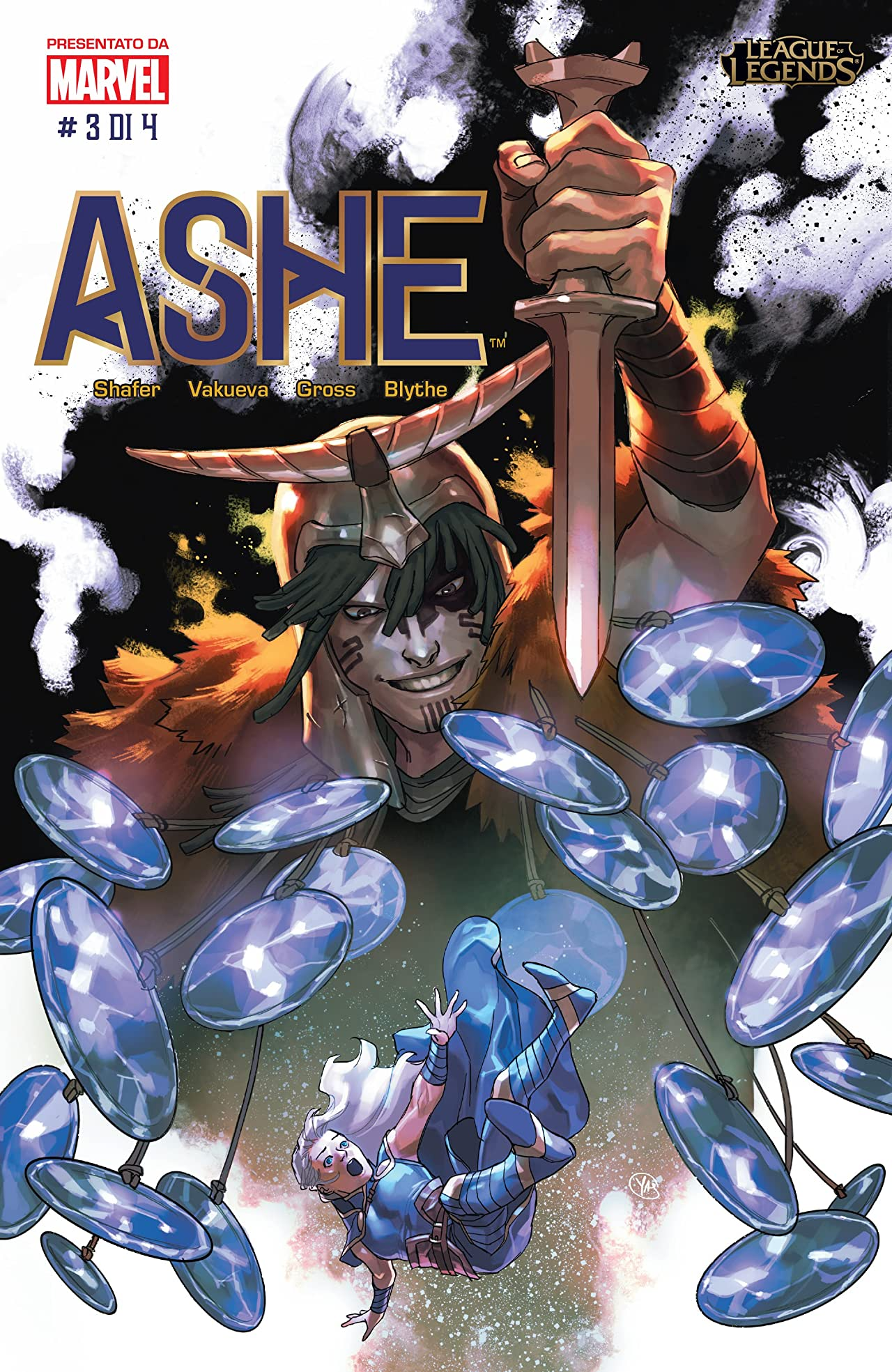 League of Legends - Ashe: Madre Guerriera Special Edition (Italian) No.3 (sur 4)