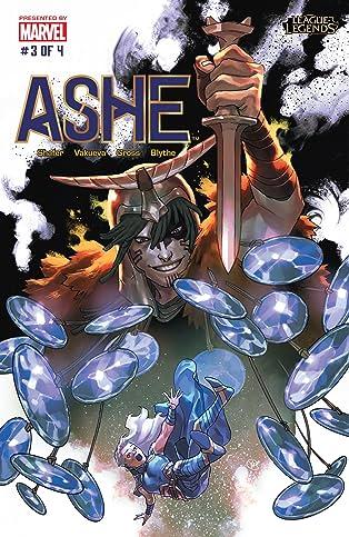 リーグ・オブ・レジェンド:アッシュ:アヴァローサンの戦母 Special Edition (Japanese) #3 (of 4)