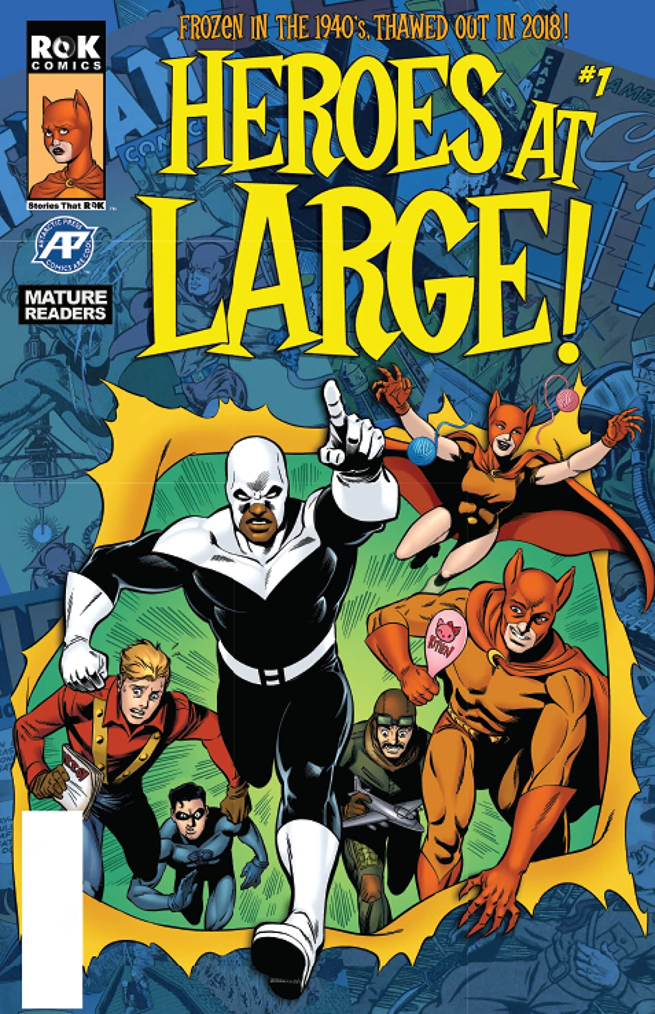 Heroes At Large! #1