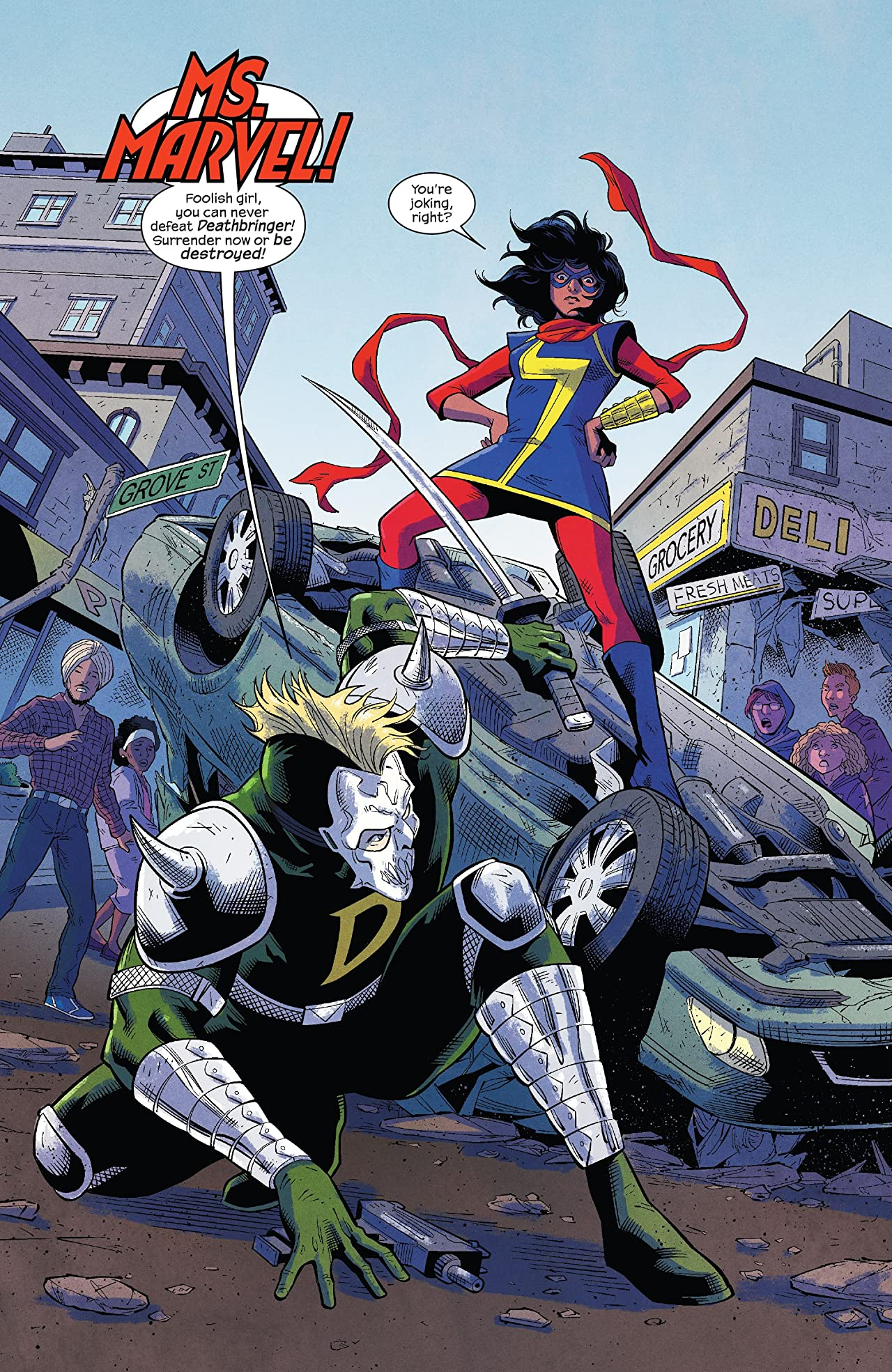 Magnificent Ms. Marvel (2019-) #1