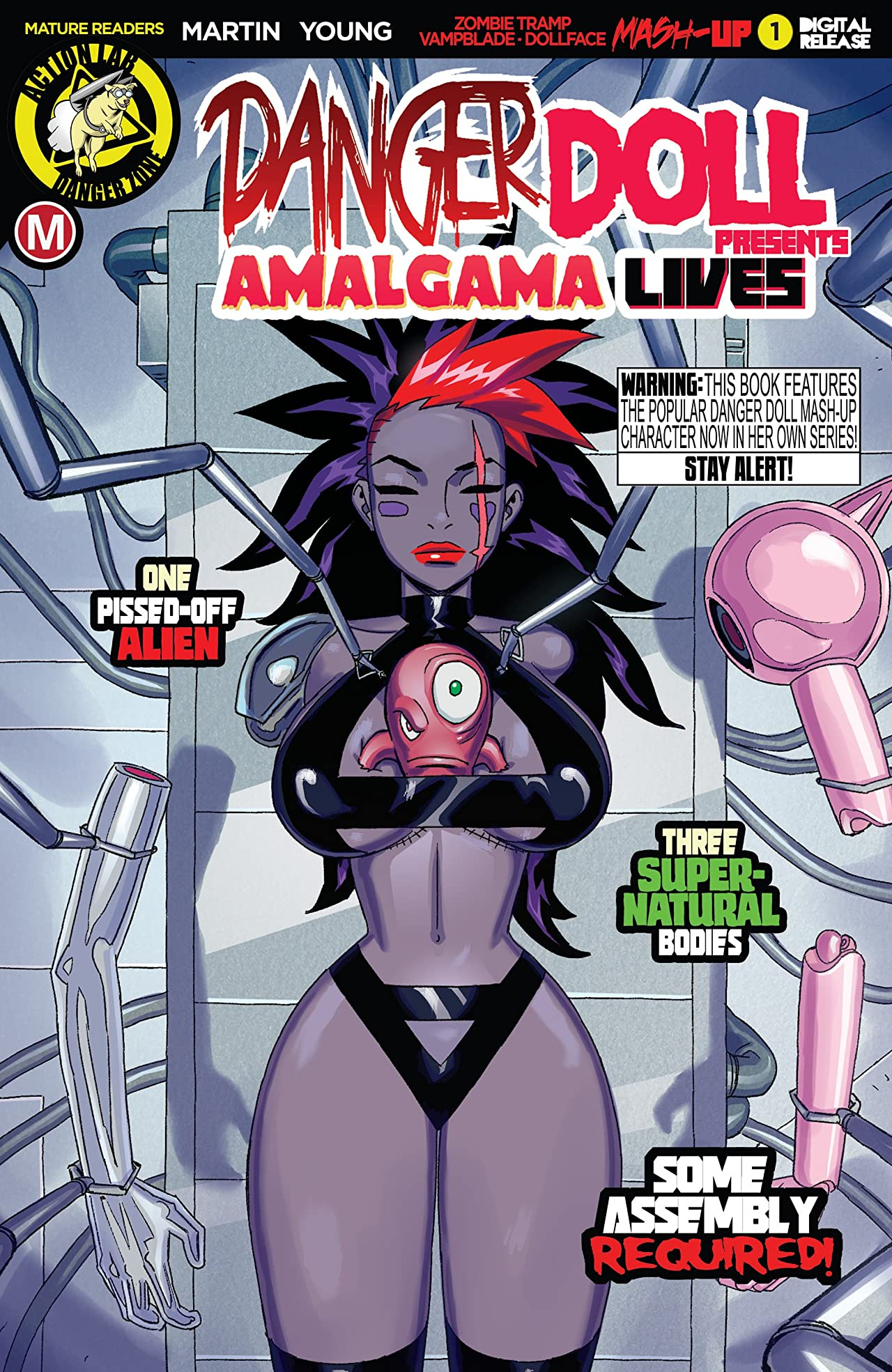 Danger Doll Squad Presents: Amalgama Lives! #1