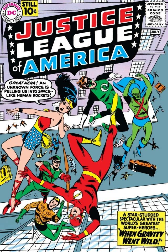 Justice League of America (1960-1987) #5