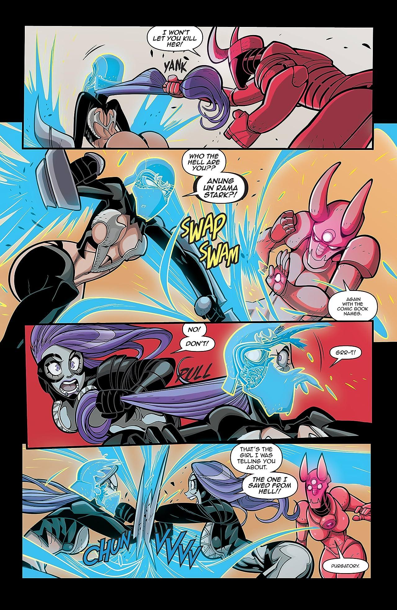 Vampblade Season 3 #12