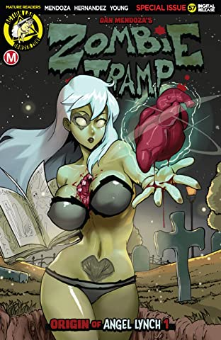 Zombie Tramp No.57: Origin of Angel Lynch #1