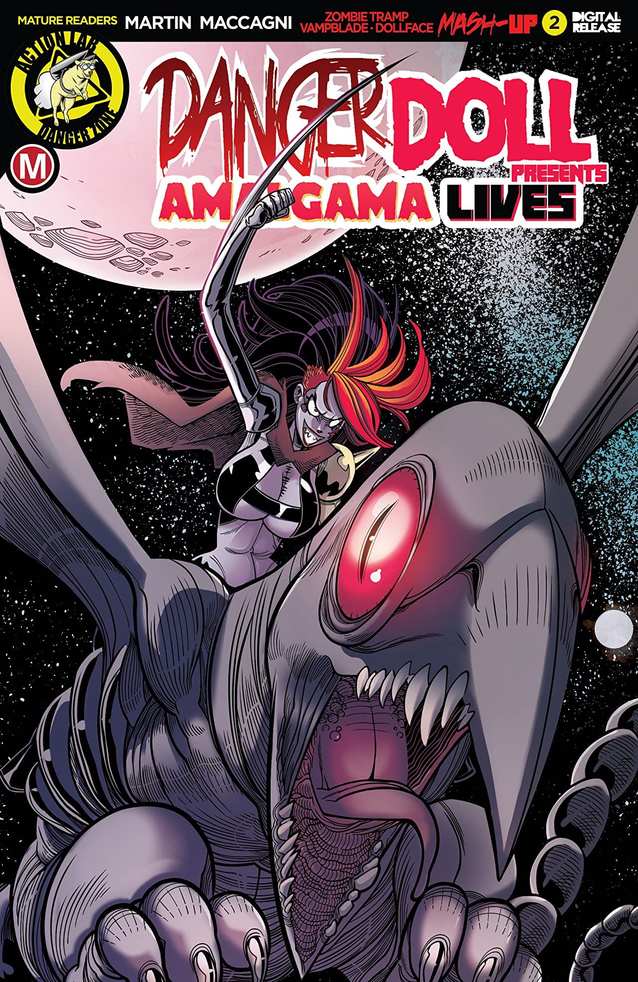 Danger Doll Squad Presents: Amalgama Lives! #2