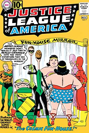 Justice League of America (1960-1987) No.7