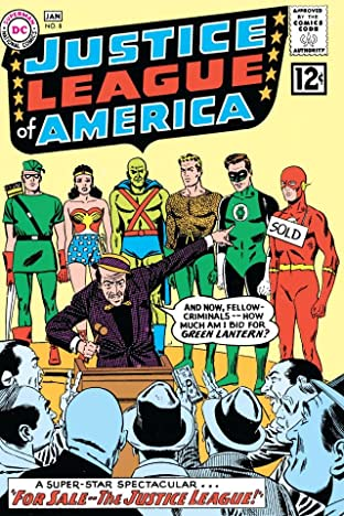Justice League of America (1960-1987) No.8