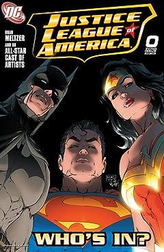 Justice League of America (2006-2011) No.0