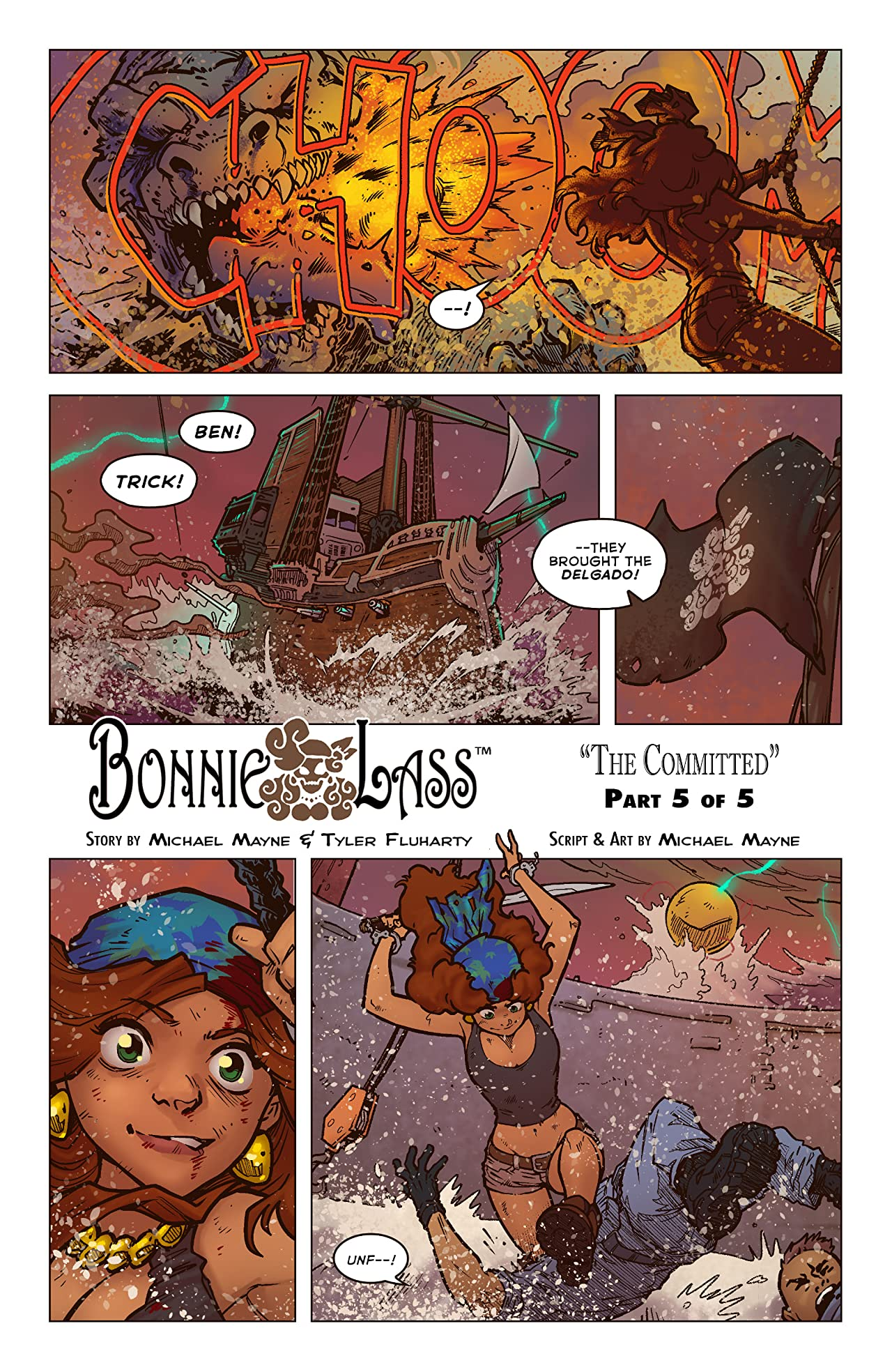 Bonnie Lass: The Committed #5