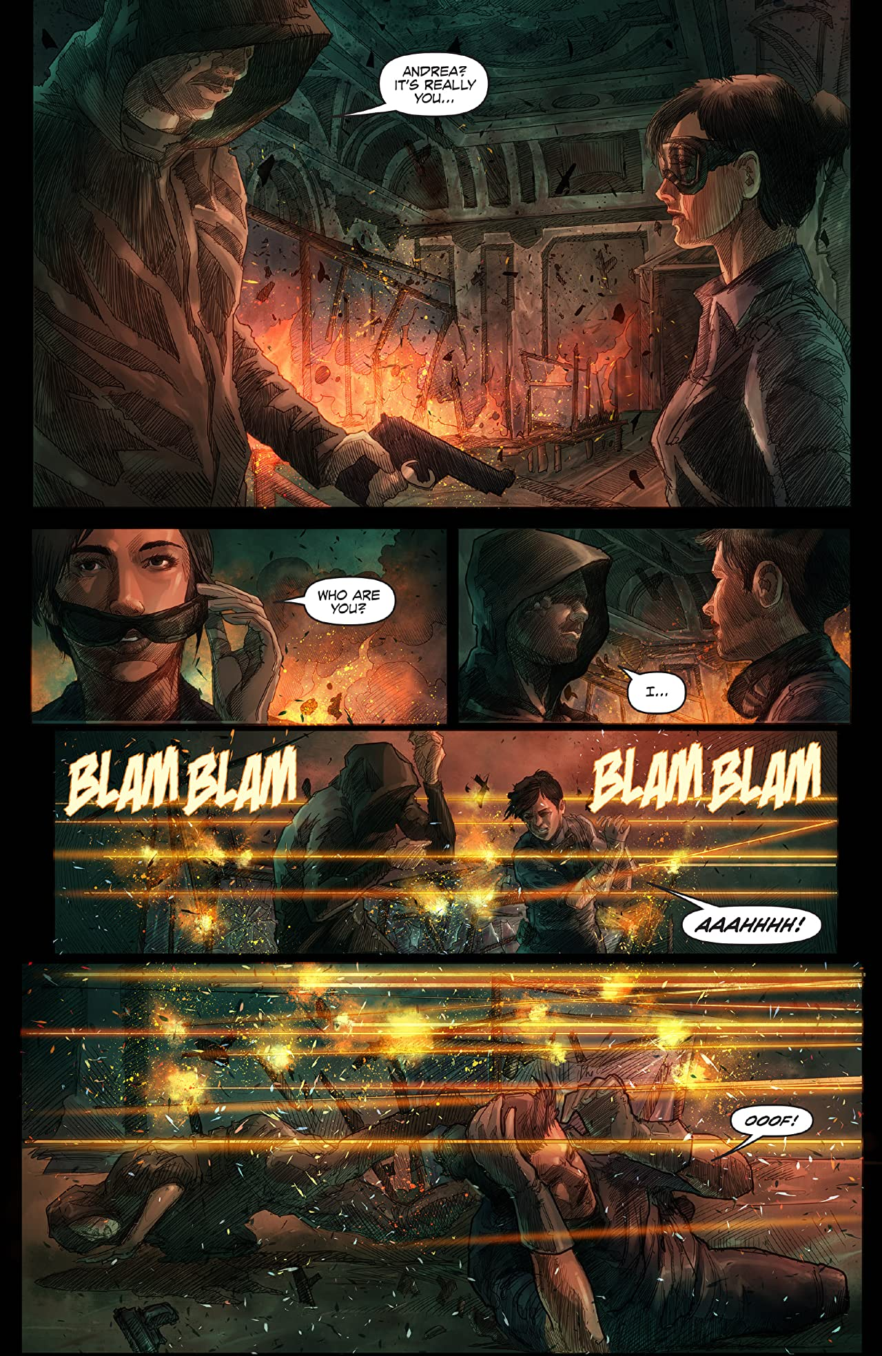 Afterburn: Crossfire #2