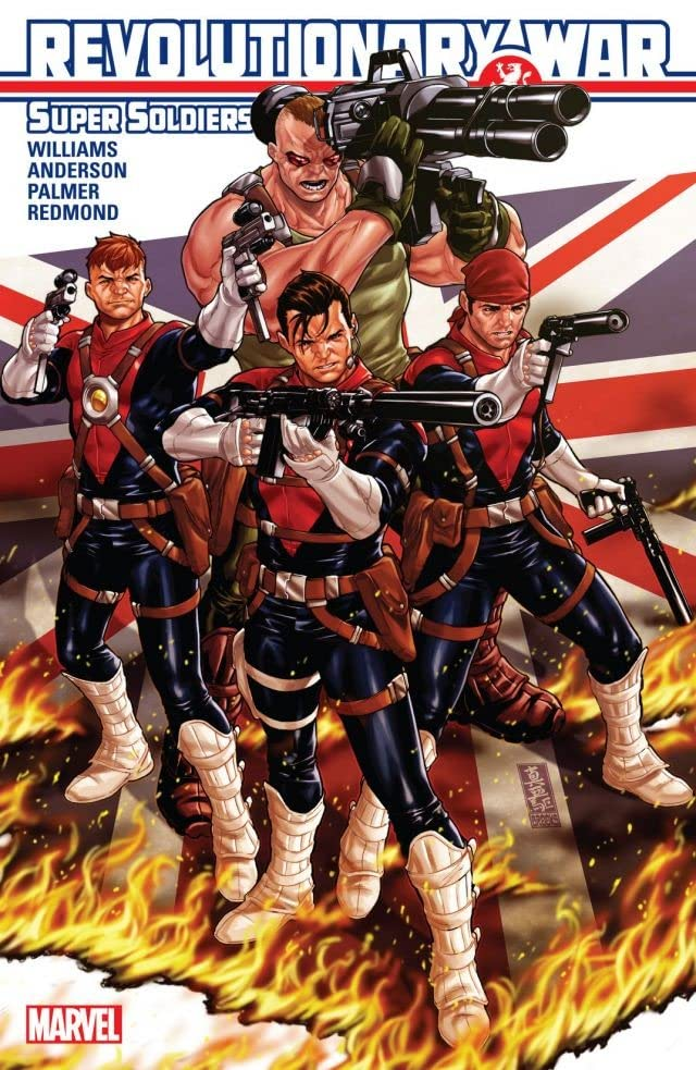 Revolutionary War: Supersoldiers #1