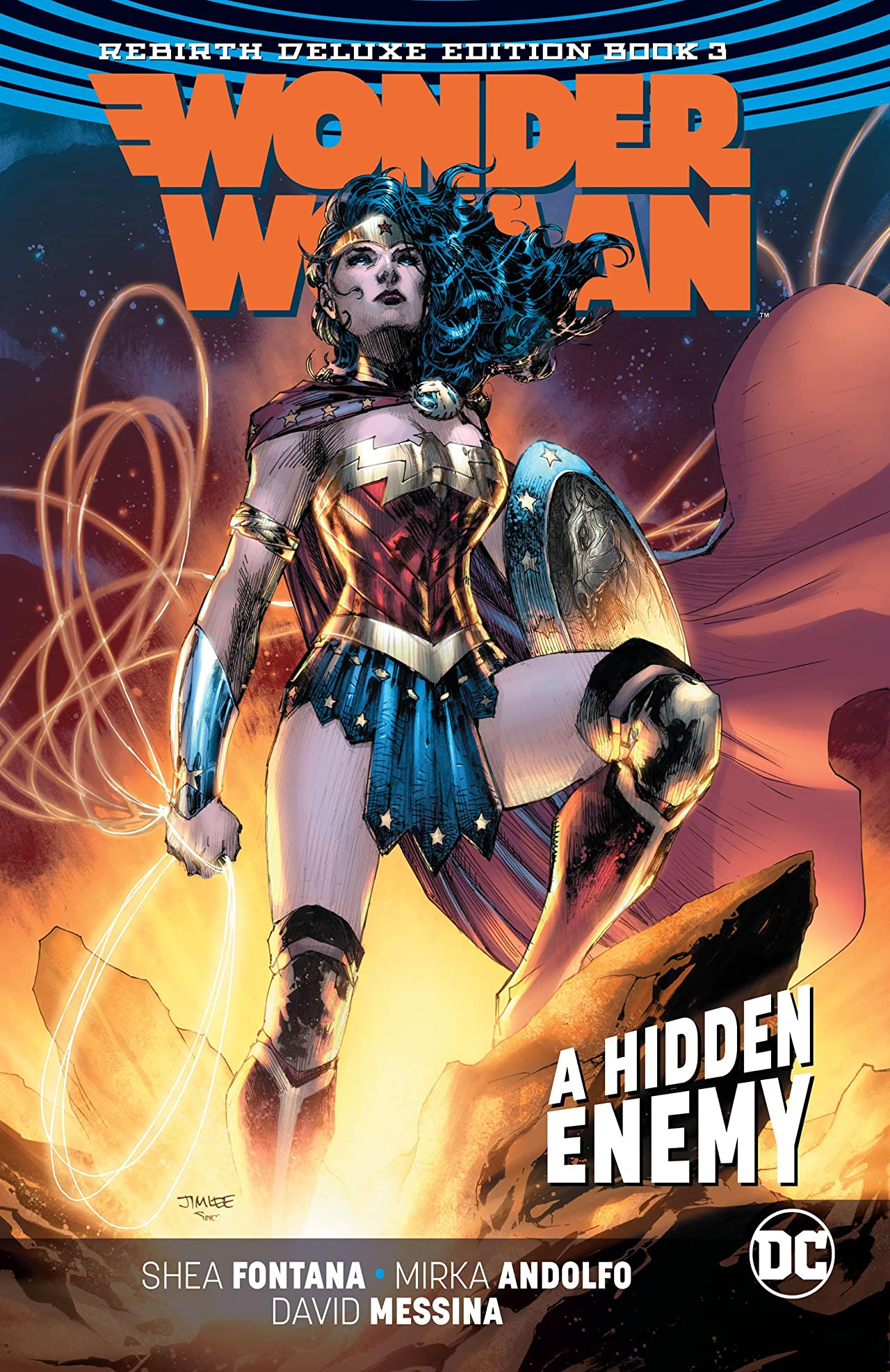 Wonder Woman: The Rebirth Deluxe Edition - Book 3