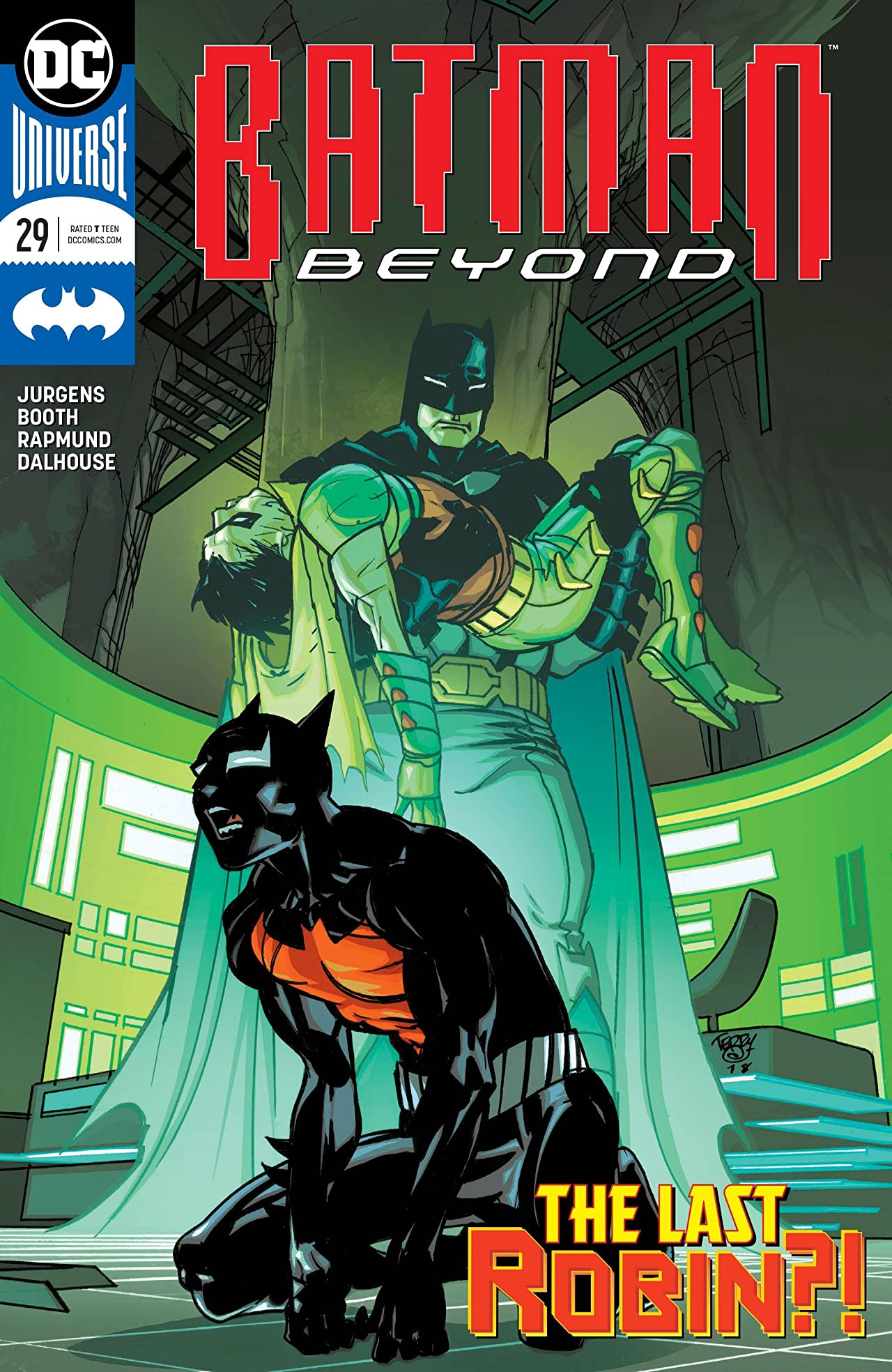 Batman Beyond (2016-) #29