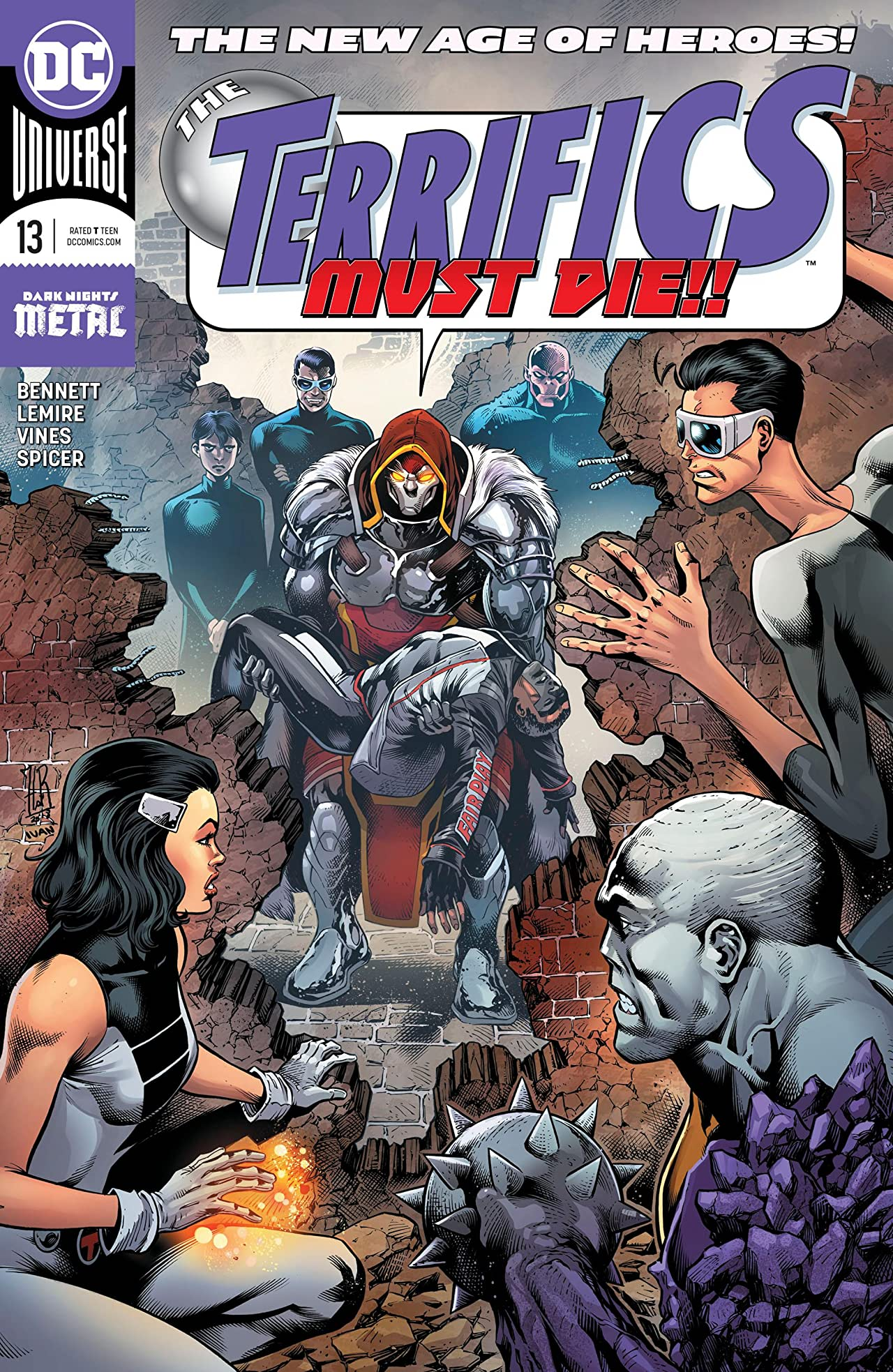 The Terrifics (2018-) No.13