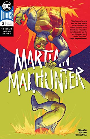 Martian Manhunter (2018-) No.3