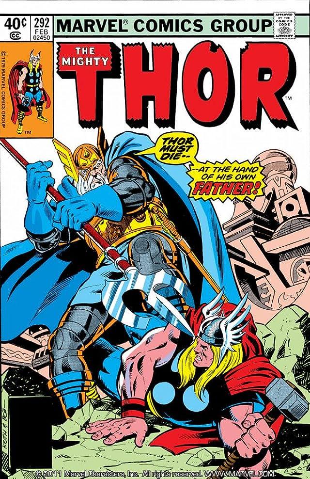 Thor (1966-1996) #292