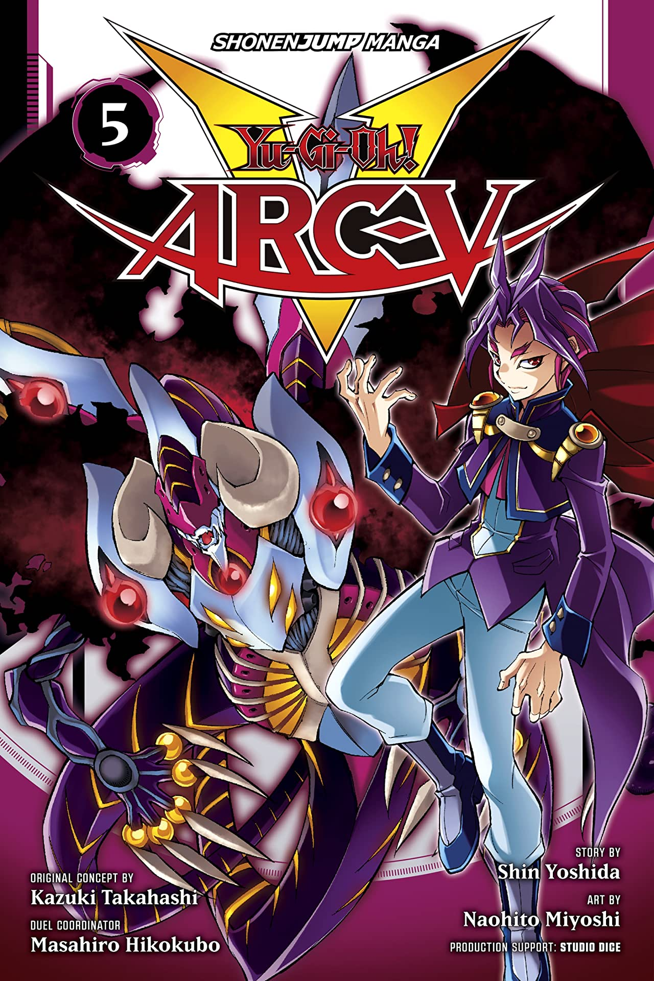 Yu-Gi-Oh! Arc-V Tome 5: The Enemy's Hideout!!