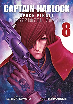 Captain Harlock Space Pirate: Dimensional Voyage Tome 8