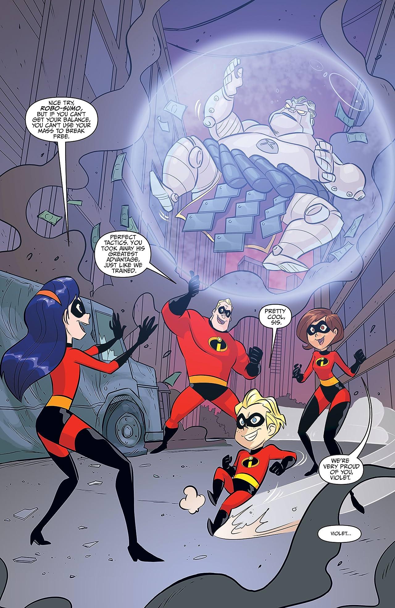 Disney•PIXAR The Incredibles 2: Secret Identities #1