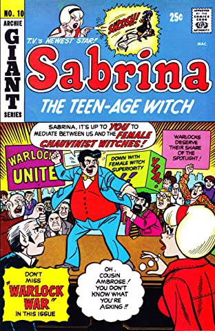 Sabrina the Teenage Witch (1971-1983) No.10