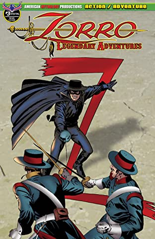Zorro: Legendary Adventures No.3